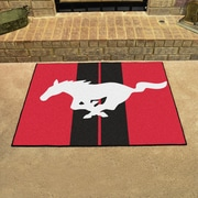 FANMATS Ford - Mustang Horse All Star Mat; Red