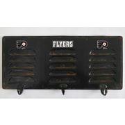 Imperial NHL 3 Hook Metal Locker Coat Rack; Philadelphia Flyers