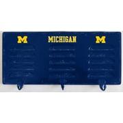Imperial NCAA 3 Hook Metal Coat Rack; University Of Michigan