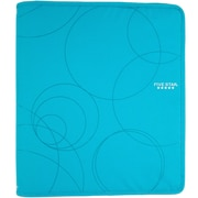 "Five Star® 1-1/2"", 3 Rings, Zipper Binder, Blue (72358)"