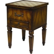 AA Importing Single Drawer Game Table in Brown