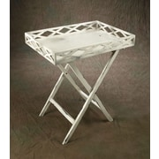 AA Importing 30'' Rectangular Folding Table with Lift Top