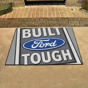 FANMATS Ford - Built Ford Tough All Star Mat; Gray