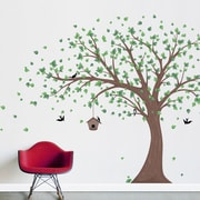 Wallums Wall Decor Pastel Trees Printed Wall Decal