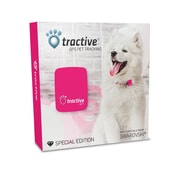 Tractive Special Edition GPS Tracking Device with Swarovski Crystals, Pink (TRAPI1)