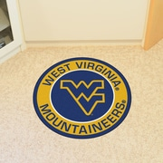 FANMATS NCAA West Virginia University Roundel Mat