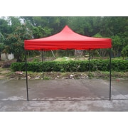 American Phoenix 10 Ft. W x 10 Ft. D Canopy; Red