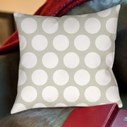 Manual Woodworkers & Weavers Amina Polka Dot Printed Throw Pillow; 16'' H x 16'' W x 4'' D