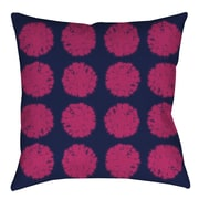Manual Woodworkers & Weavers Pod Dots Printed Throw Pillow; 16'' H x 16'' W x 4'' D