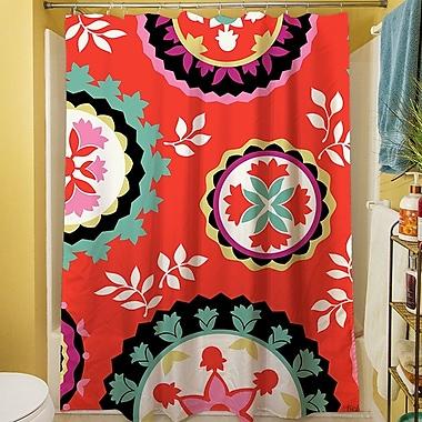 Manual Woodworkers & Weavers Bird Berries Susani Shower Curtain