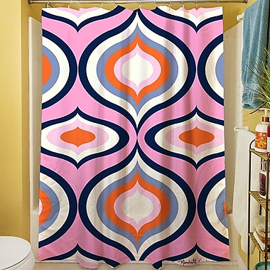 Manual Woodworkers & Weavers Britney Geo Shower Curtain