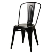 New Pacific Direct Metropolis Side Chair (Set of 4); Black