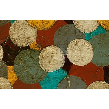 Manual Woodworkers & Weavers Circumlocution Multi Rug; 5'10'' x 4'4''