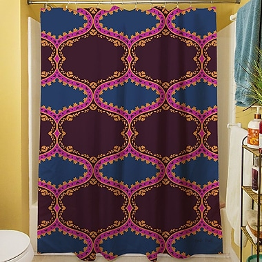 Manual Woodworkers & Weavers Bird Berries Folk Ogee Shower Curtain