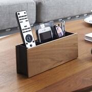 Yamazaki USA Multimedia Remote Control Holder; Brown