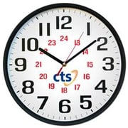 "Staples 12"" 24-Hour Wall Clock (Q1224)"
