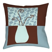 Manual Woodworkers & Weavers Minimalist Flowers 3 Printed Throw Pillow; 26'' H x 26'' W x 7'' D