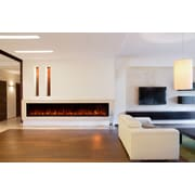 Modern Flames Landscape FullView Series Wall Mount Electric Fireplace; 22.5'' H x 100'' W x 11.5'' D