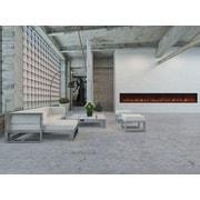 Modern Flames Landscape FullView Series Wall Mount Electric Fireplace; 22.5'' H x 120'' W x 11.5'' D