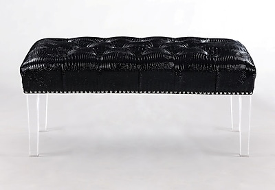 Iconic Home Odette Upholstered Bedroom Bench WYF078279118930