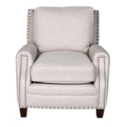 Opulence Home Bradford II Linen Arm Chair; Beige