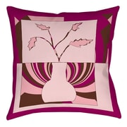 Manual Woodworkers & Weavers Minimalist Flowers 1 Printed Throw Pillow; 26'' H x 26'' W x 7'' D