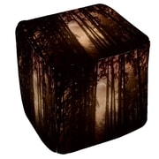 Manual Woodworkers & Weavers Forest Skyline Ottoman