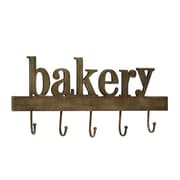 ABCHomeCollection ''Bakery'' Wood Wall Hook