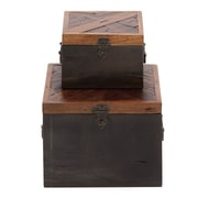 ABCHomeCollection 2 Piece Antique Box Set