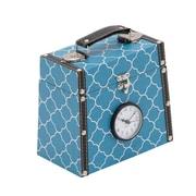 ABCHomeCollection Wood Vinyl Clock Box