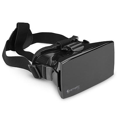 Ematic EVR410 Black Universal VR Smartphone Headset for Apple iPhone/Android Phones 1620038
