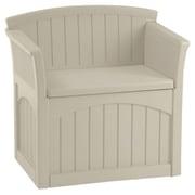 Suncast 31 Gallon Storage Chair; Light Taupe