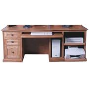 Forest Designs Computer Desk; Antique Alder