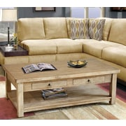 Casual Elements Lodge Coffee Table; Grey Wash