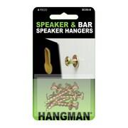 Hangman Speaker & Bar Speaker Hangers (BCK6-B)