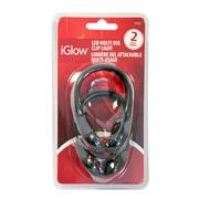 """iGlow LED Shoe Clip Light, 4"""" x 2.4"""" x 7.12"""", 2/Pack"""
