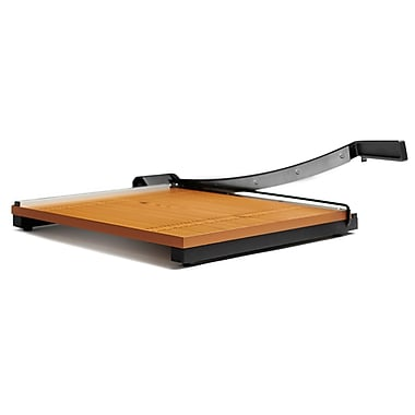 X-ACTO® Square Wood Guillotine Paper Trimmer 18