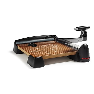 X-ACTO® WoodLaser Paper Trimmer Deluxe Wood Base, 12