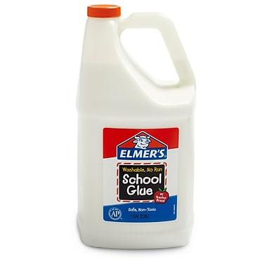 Elmer's Washable School Glue, White, 1 Gallon