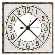 Cooper Classics  Maxwell Metal Wall Decor Clock (COOP890)