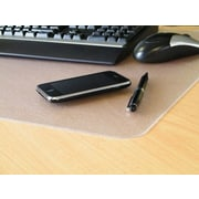 Desktex  Polycarbonate Smooth Back Desk Mat Rectangular Shaped 17 X 22 In. (FLRTX124)