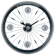 Maples  Bike Wall Clock - With Black Aluminum Rim (MPLS030)