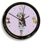 California Clock  Headphones Cat Clock (OC0508)