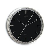 Opal Luxury Time Products  Double Sided Center Second Hand Clock, Black (OPLX005)