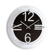 Opal Luxury Time Products  Beveled Glass Clock With Designer Aluminium Dial (OPLX053)