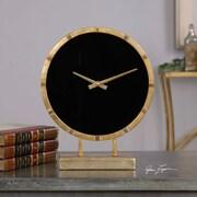Uttermost  Aldo Gold Table Clock (UTTERMST03673)