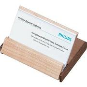 Visol  Durmast Natural Maple Wood And Walnut Desktop Business Card Case (VISOL1580)
