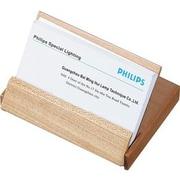 Visol  Limber Natural Maple Wood Desktop Business Card Case (VISOL1581)