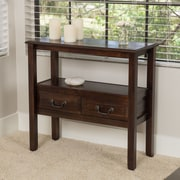Home Loft Concepts Grant Acacia Console Table; Brown Mahogany