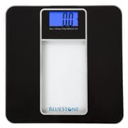 Bluestone Digital Glass Bathroom Scale with LCD Display - Black (886511975132)